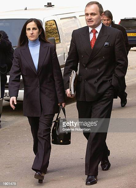 Charles Ingram and his wife Diana arrive at Southwark Crown Court April 7 2003 in London England Ingram has been charged with deception and...