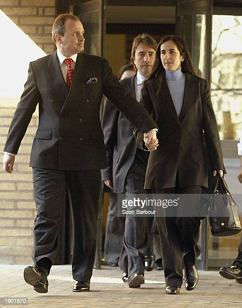 Charles Ingram and his wife Diana leave Southwark Crown Court April 7, 2003 in London, England. Charles Ingram, his wife Diana and business lecturer,...