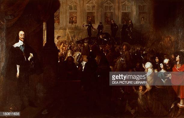 Charles I's execution at Whitehall January 30 by Gonzales Coques First English Revolution England 17th century
