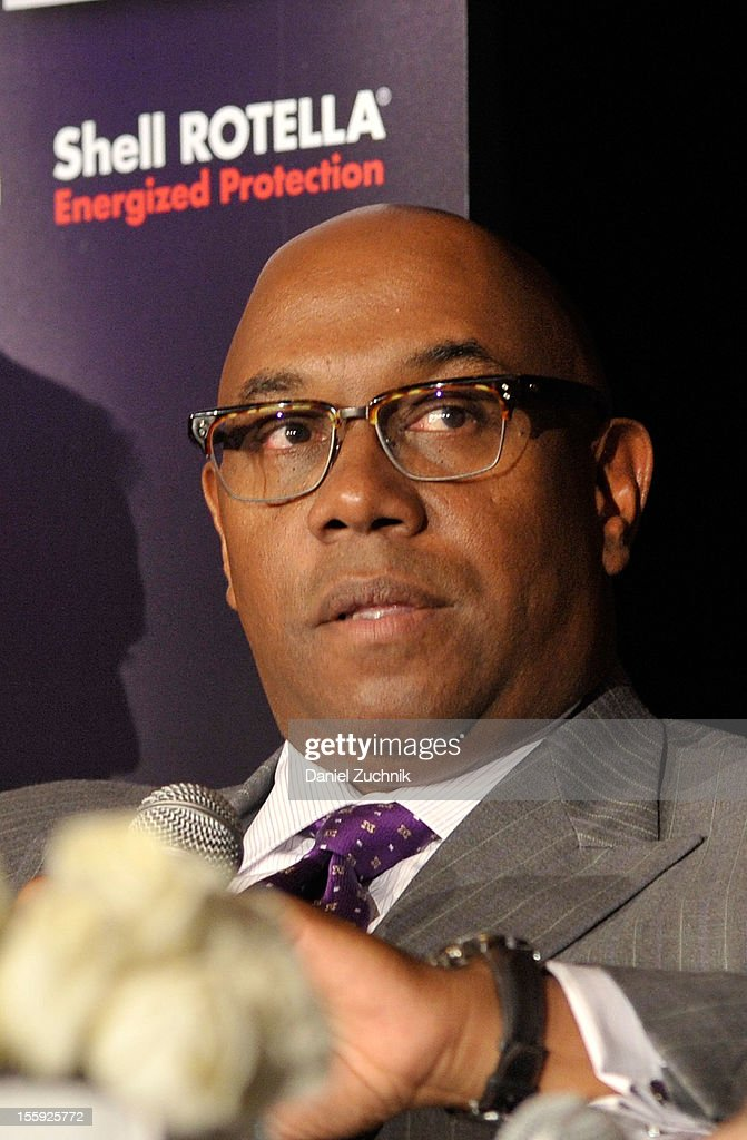 Charles J. Johnson attends the 2012 Billboard Touring Conference & Awards Keynote Address at Roosevelt Hotel on November 8, 2012 in New York City.