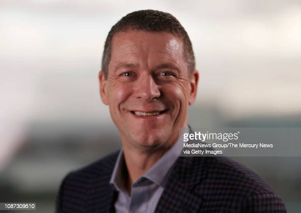 Charles J Meyers president and CEO of Equinix poses for a photograph in his office in Redwood City Calif on Tuesday Dec 18 2018