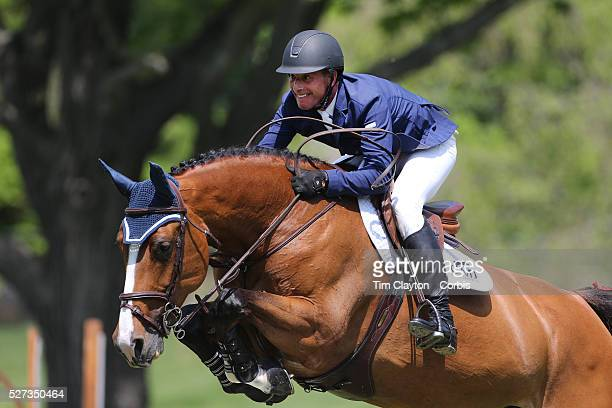 Charles Jacobs riding Cassinja S in action during the $100000 Empire State Grand Prix presented by the Kincade Group during the Old Salem Farm Spring...