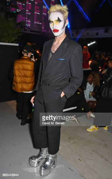 Charles Jeffrey attends as Dazed ck one celebrate the launch of the Dazed 100 at 180 The Strand on April 6 2017 in London England