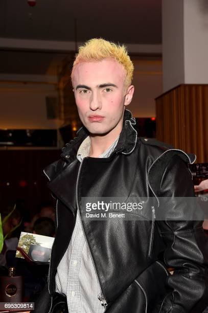 Charles Jeffrey attends Choreomania by the Theo Adams Company at Hoi Polloi Ace hotel on June 12 2017 in London England