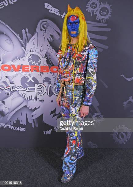 Guests watch the performance at the Charles Jeffrey LOVERBOY x MAC Pro Party at 180 The Strand on July 19 2018 in London United Kingdom
