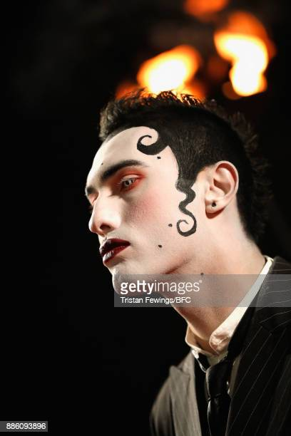 Charles Jeffrey attends The Fashion Awards 2017 in partnership with Swarovski at Royal Albert Hall on December 4 2017 in London England