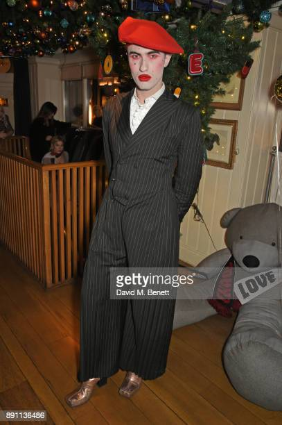 Charles Jeffrey attends the Love x Chaos x Poppy Delevingne x Moet Christmas Party at George on December 12 2017 in London England