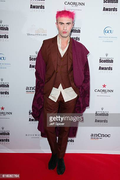 Charles Jeffrey attends The Scottish Fashion Awards at Rosewood London on October 21 2016 in London England