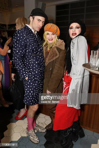 Charles Jeffrey Pam Hogg and Princess Julia attend the Matty Bovan Rottingdean Bazaar 'Night of a 1000 Stars' commissioned by Hoi Polloi at The Ace...