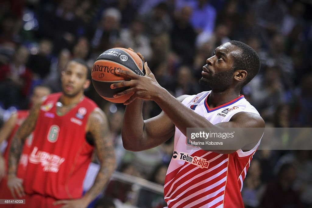 Charles Jenkins 22 Of Crvena Zvezda Telekom Belgrade In Action News Photo Getty Images