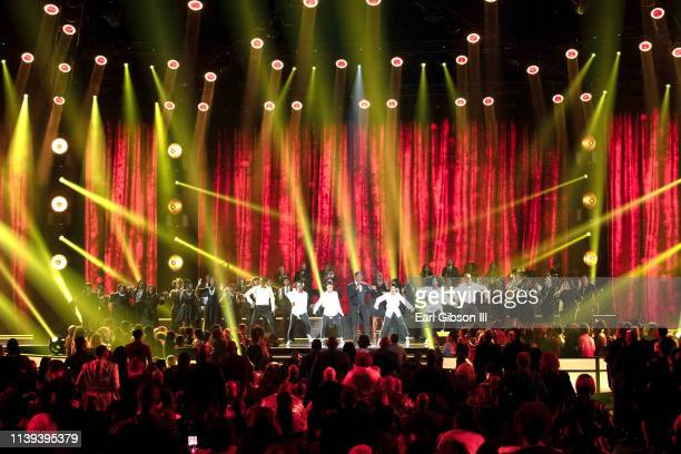Charles Jenkins performs during the 34th annual Stellar Gospel Music Awards at the Orleans Arena on March 29 2019 in Las Vegas Nevada