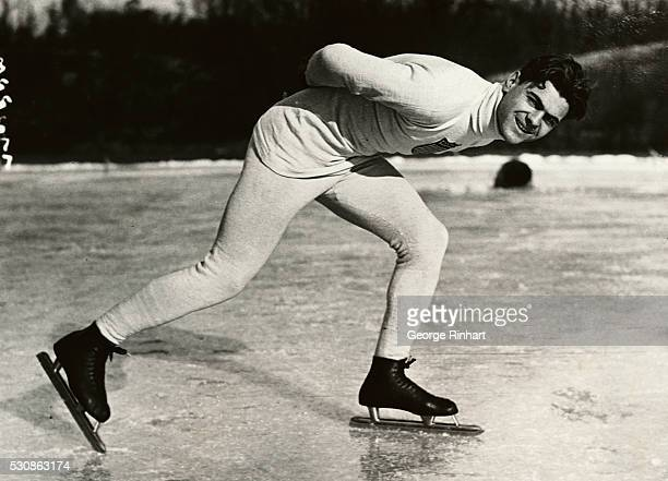 Charles Jewtraw became the first American to win a gold medal in Winter Olympic competition when he sped to victory in the 500 meter speedskating...