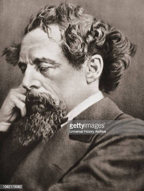 Charles John Huffam Dickens 1812 1870 English writer and social critic After a contemporary print