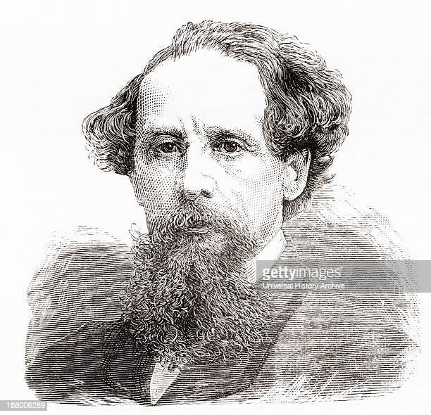 Charles John Huffam Dickens 1812 To 1870 English Novelist From Our Own Country Published 1898