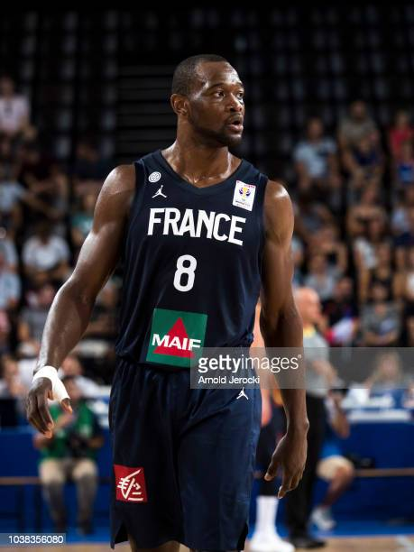 Charles Kahudi from France during the FIBA Basketball Wolrd cup 2019 qualifier match between France and Finland at the Sud de France Arena on...
