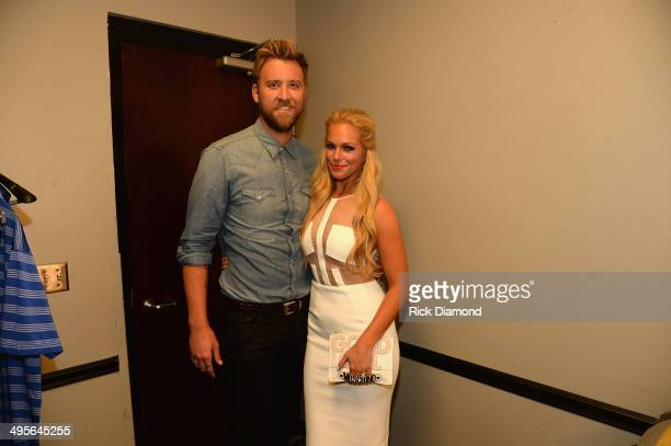 Charles Kelley and Cassie McConnell attend the 2014 CMT Music Awards at Bridgestone Arena on June 4 2014 in Nashville Tennessee