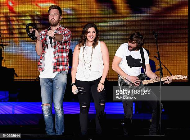 Charles Kelley Hillary Scott and Dave Haywood Lady Antebellum headlines 2016 Windy City LakeShake Country Music Festival Day 1 at FirstMerit Bank...