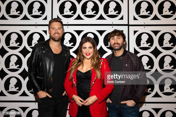 Charles Kelley Hillary Scott and Dave Haywood of Lady Antebellum attend the Country Cares for St Jude Kids Seminar at The Peabody on January 17 2020...