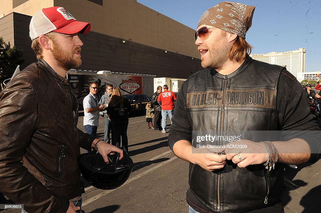 6th Annual Academy Of Country Music Awards Charity Motorcycle Ride : News Photo