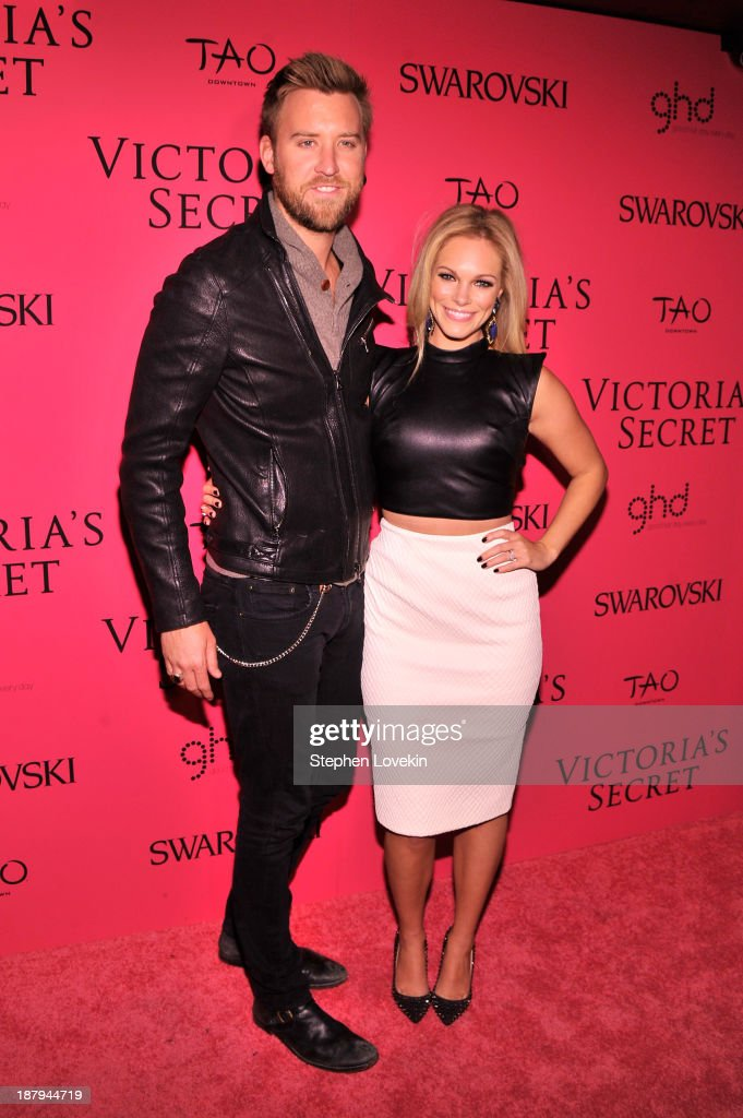 Charles Kelley of Lady Antebellum attends the 2013 Victoria's Secret Fashion Show at TAO Downtown on November 13, 2013 in New York City.