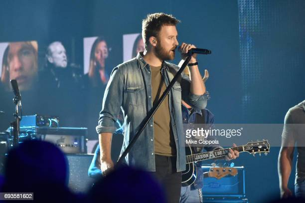 Charles Kelley of Lady Antebellum performs onstage during the 2017 CMT Music Awards at the Music City Center on June 6 2017 in Nashville Tennessee