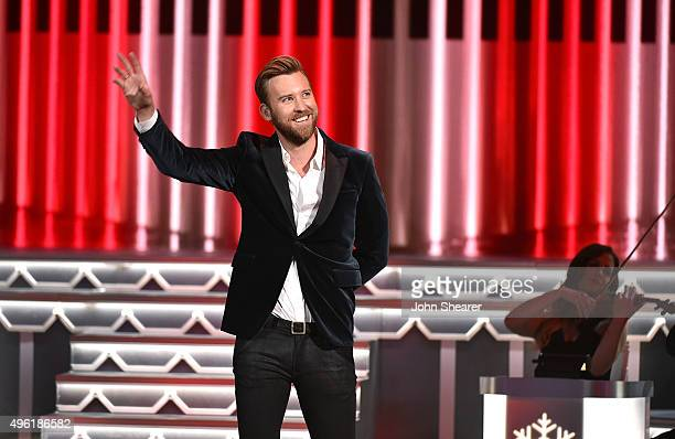Charles Kelley of Lady Antebellum performs onstage during the CMA 2015 Country Christmas on November 7 2015 in Nashville Tennessee