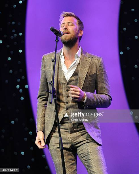 Charles Kelly of Lady Antebellum performs during the 36th annual Georgia Music Hall of Fame Awards at the Georgia World Congress Center on October 11...