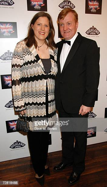 Charles Kennedy and his guest arrive at the British Comedy Awards 2006 at the London Television Studios on December 13 2006 in London England