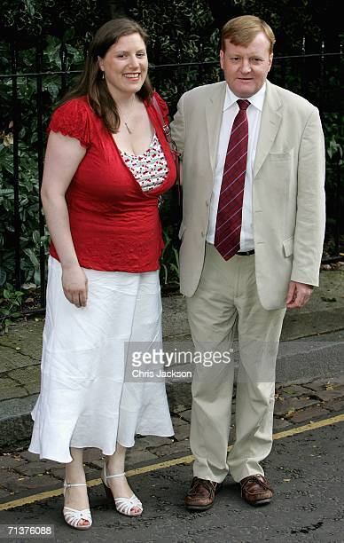 Charles Kennedy and his wife arrive at David Frost's Summer Party on July 5 2006 in London England