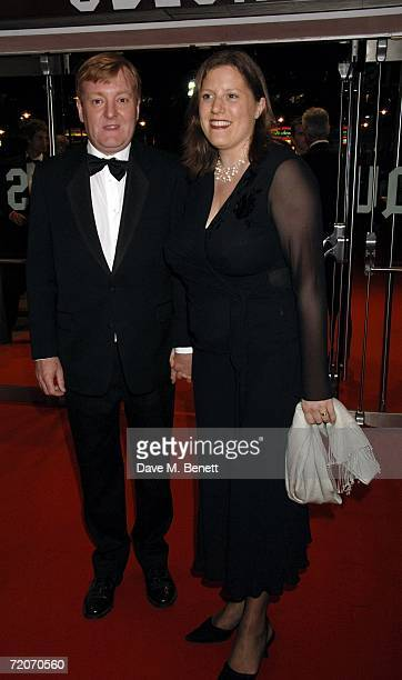 Charles Kennedy and his wife arrive at the UK premiere of The History Boys at Odeon West End on October 2 2006 in London England