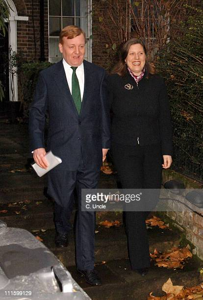 Charles Kennedy and Sarah Kennedy during Charles Kennedy Arrives Home After Standing Down as Leader of the Liberal Democrats January 7 2006 at...
