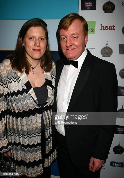 Charles Kennedy and Wife backstage in the Sultans of Swag Gift Lounge at the 2006 British Comedy Awards