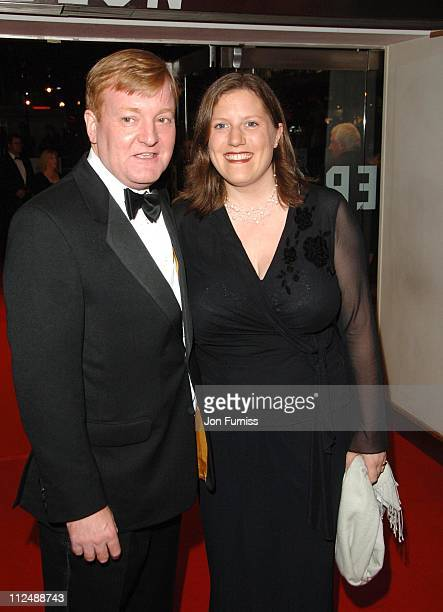 Charles Kennedy and wife during The History Boys UK Film Premiere Inside Arrivals in London Great Britain