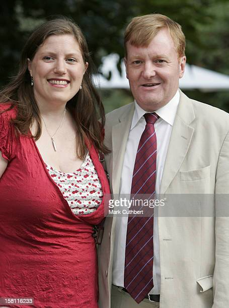 Charles Kennedy Attends A Summer Party Hosted By David Frost At His Home In London