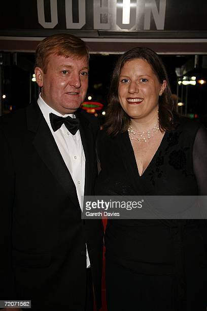 Charles Kennedy wife arrives at the UK premiere of 'History Boys' at the Odeon West End on October 2 2006 in London England