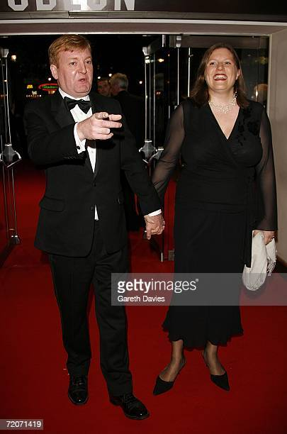 Charles Kennedy with his wife arrive at the UK premiere of ''History Boys'' at the Odeon West End on October 2 2006 in London England