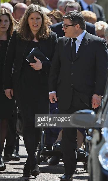 Charles Kennedy's former wife Sarah Gurling attends the funeral service of the former Liberal Democrat leader at St John's Roman Catholic Church on...
