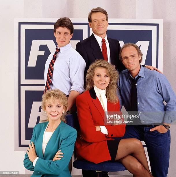 BROWN Charles Kimbrough as Jim Dial Joe Regalbuto as Frank Fontana Candice Bergen as Murphy Brown Faith Ford as Corky Sherwood and Grant Shaud as...