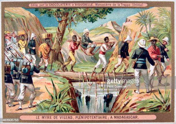 'Charles le Myre de Vilers resident general of Madagascar' 19th century France invaded Madagascar in 1883 in what became known as the first...