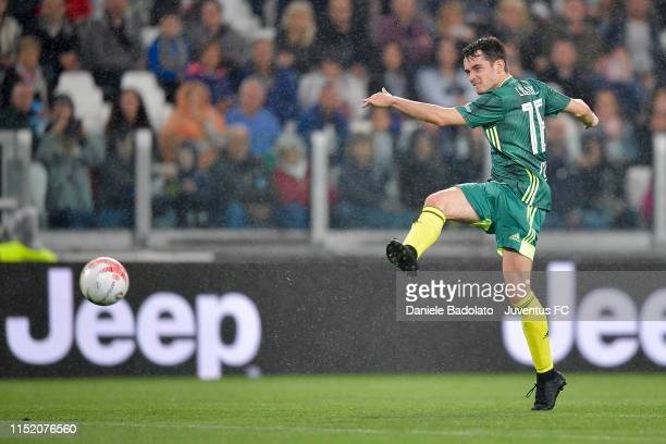 Charles Leclerc during the 'Partita Del Cuore' Charity Match at Allianz Stadium on May 27, 2019 in Turin, Italy.