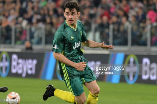 Charles LeClerc Ferrari driver from 'Campioni Per La Ricerca' seen in action against the 'Italian National Singers' during the 'Partita Del Cuore'...