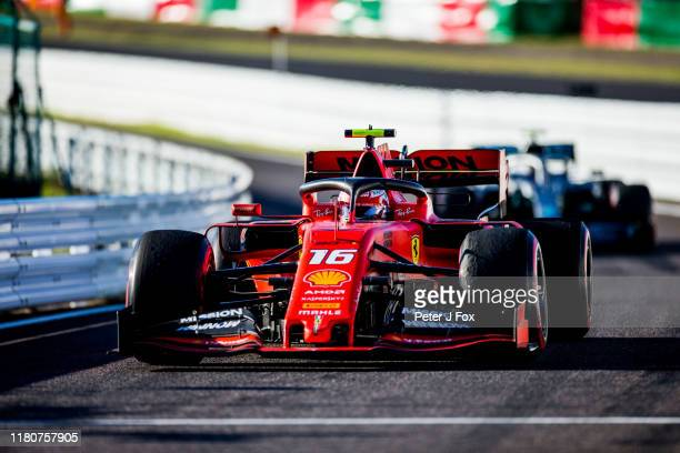 Charles Leclerc of Ferrari and France during the F1 Grand Prix of Japan at Suzuka Circuit on October 13, 2019 in Suzuka, Japan.