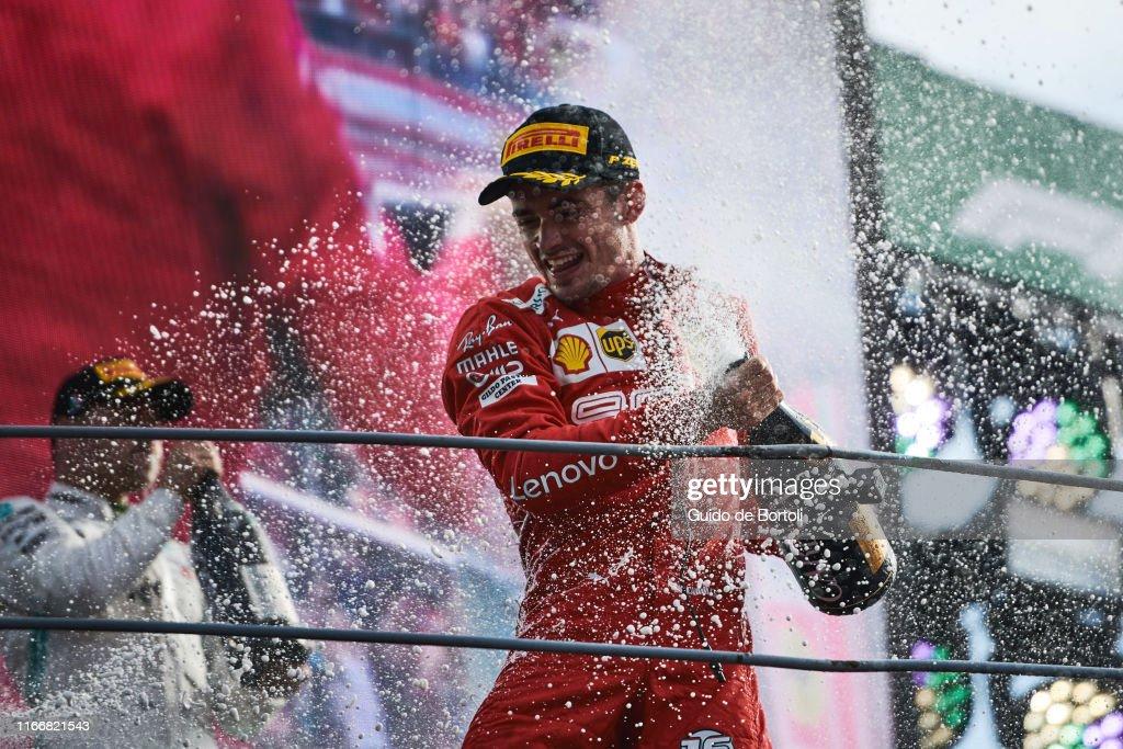 F1 Grand Prix of Italy : Nieuwsfoto's