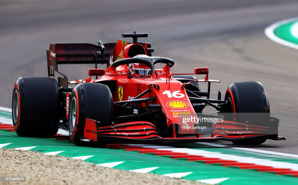 F1 Grand Prix of Emilia Romagna - Qualifying : News Photo
