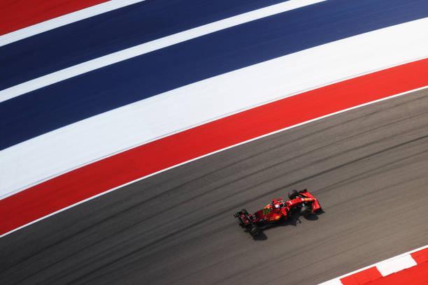 TX: F1 Grand Prix of USA - Practice
