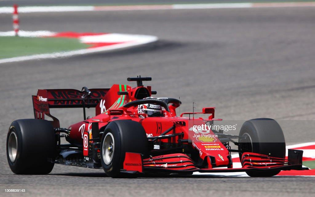 Formula 1 Testing in Bahrain - Day 1 : Nieuwsfoto's