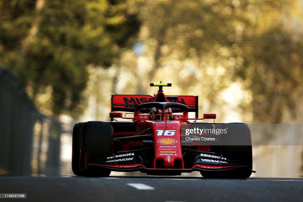 F1 Grand Prix of Azerbaijan - Practice : News Photo