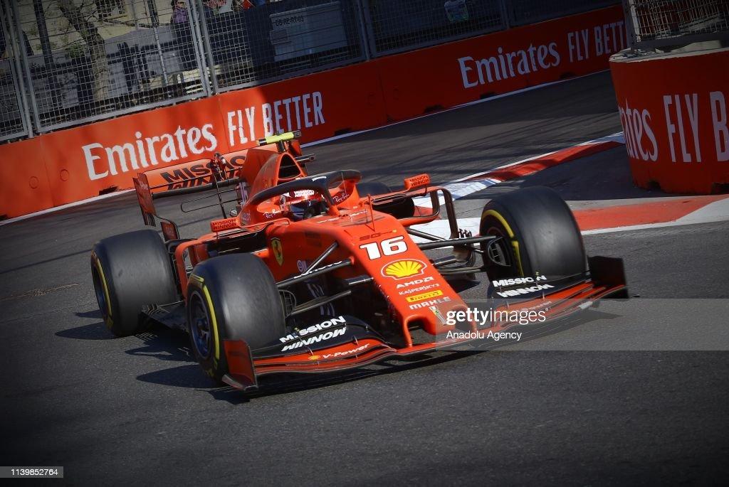 The Formula 1 Azerbaijan Grand Prix 2019 : News Photo