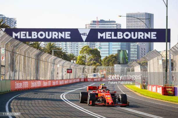 Charles LECLERC of Scuderia Ferrari Mission Winnow drives in the 2019 Formula 1 Australian Grand Prix