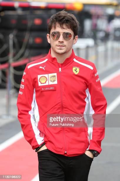 Charles LECLERC of Team Scuderia Ferrari before the 2019 Australian F1 Grand Prix